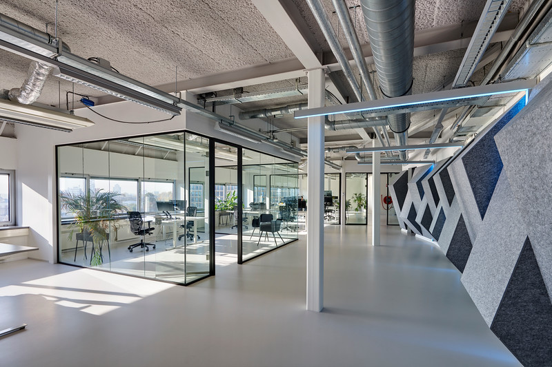 Shypple hoofdkantoor Rotterdam. Interieurarchitectuur: Kuo studio.<br /> Winters Bouw en ontwikkeling