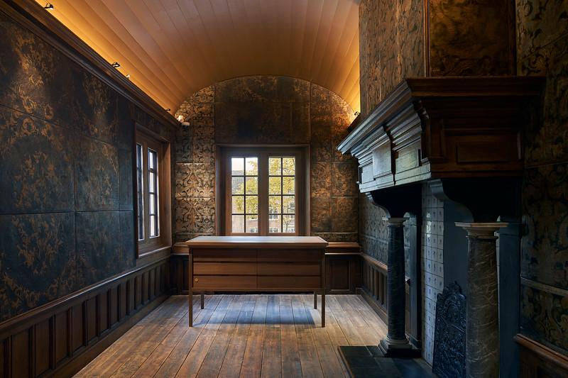 Interieur Lakenhal Leiden. Architecten: Happel Cornelissen Verhoeven.