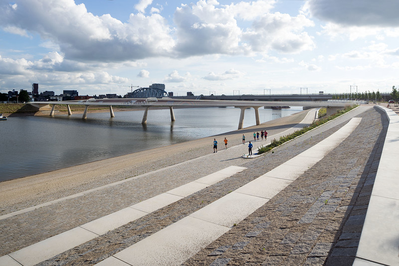 Lentloperbrug Nijmegen. Ney & Partners.