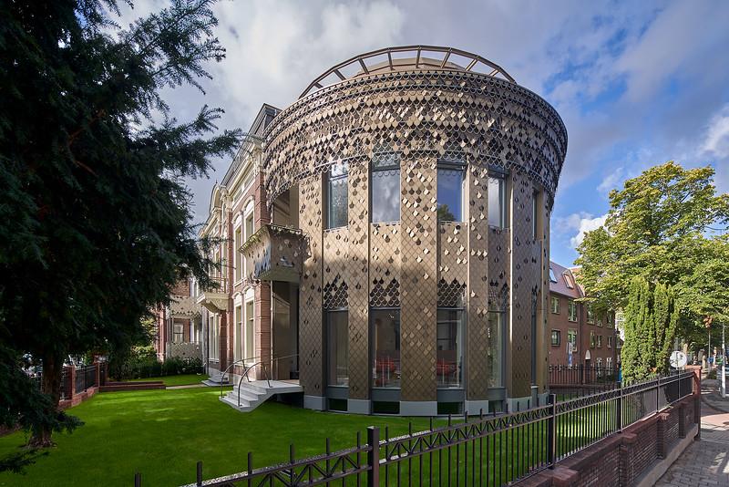 Appartementencomplex Leiden. Ronald Knappers. VVKH architecten.