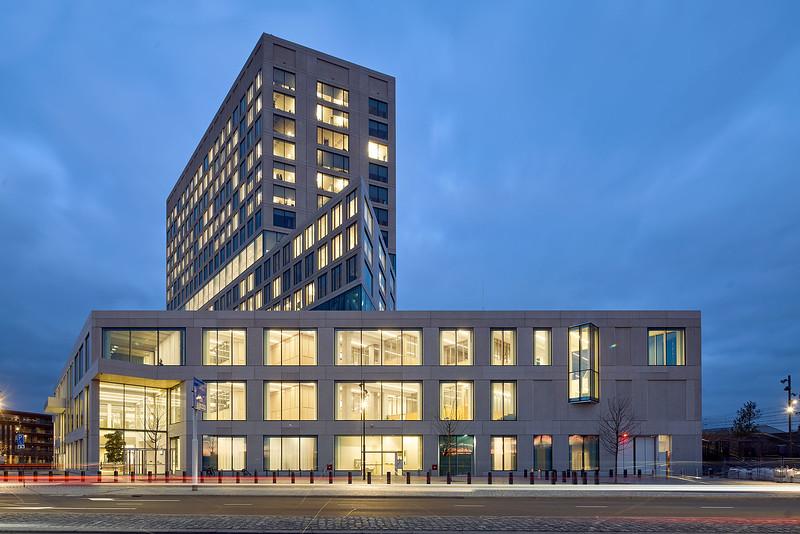 Gerechtsgebouw Breda. Paul de Ruiter architecten en Rob Hootsmans architectuurbureau