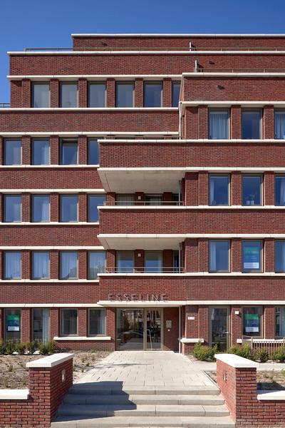 Woongebouw Esseline. Scheveningen.<br /> Geurst Schulze architecten
