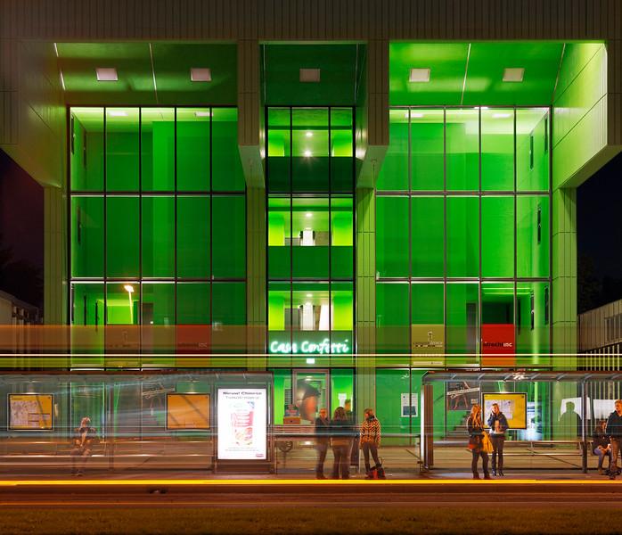 Casa Confetti. Studentenhuisvesting Utrecht. Marlies Rohmer architecten.