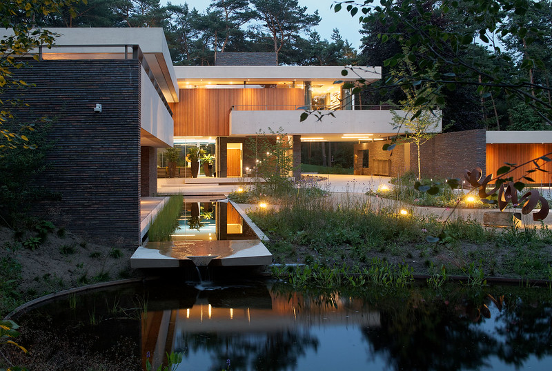Villa Bosch en Duin. Hilberink Bosch architecten.