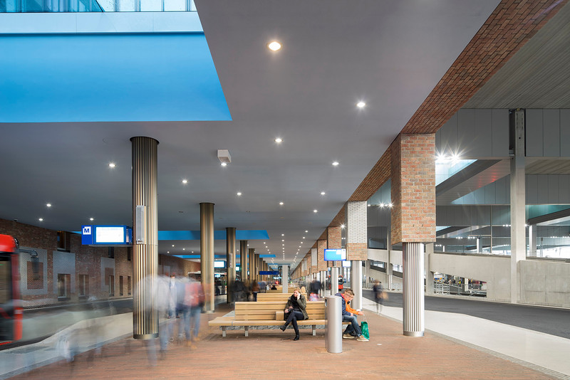 Centraal station Breda. Koen van Velsen architecten