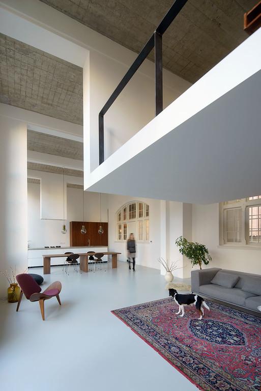 Interieur woonhuis Rotterdam. Eklund Terbeek architecten.