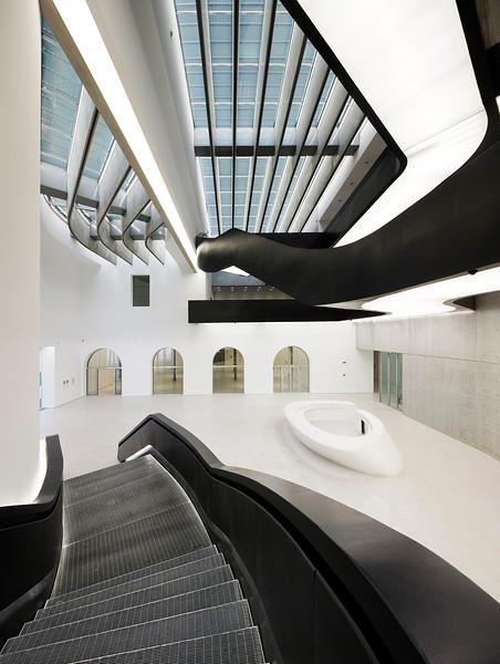 Maxxi Museum Rome. Italy. Zaha Hadid architects