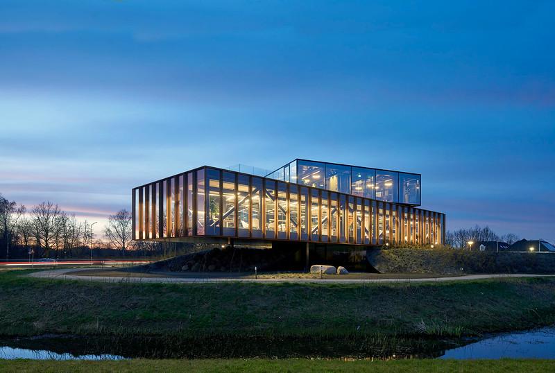 Head office Keen Systems. Denkkamer architectuur.