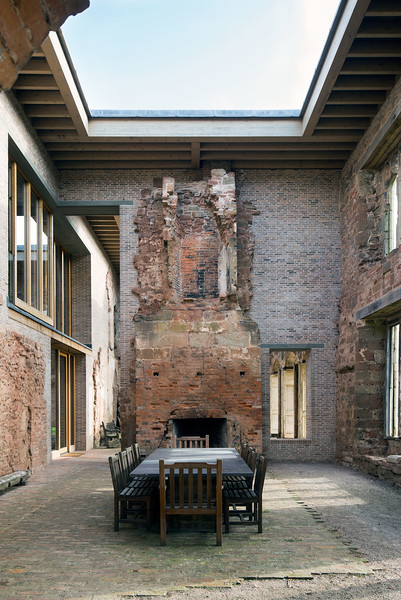 Astley Castle, Nuneaton. Witherford Watson Mann architects. Winner Stirling Prize 2013.