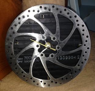 Disk Brake Clock