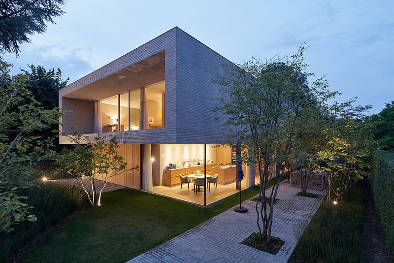 Villa Brussel. Architect: Bruno Erpicum