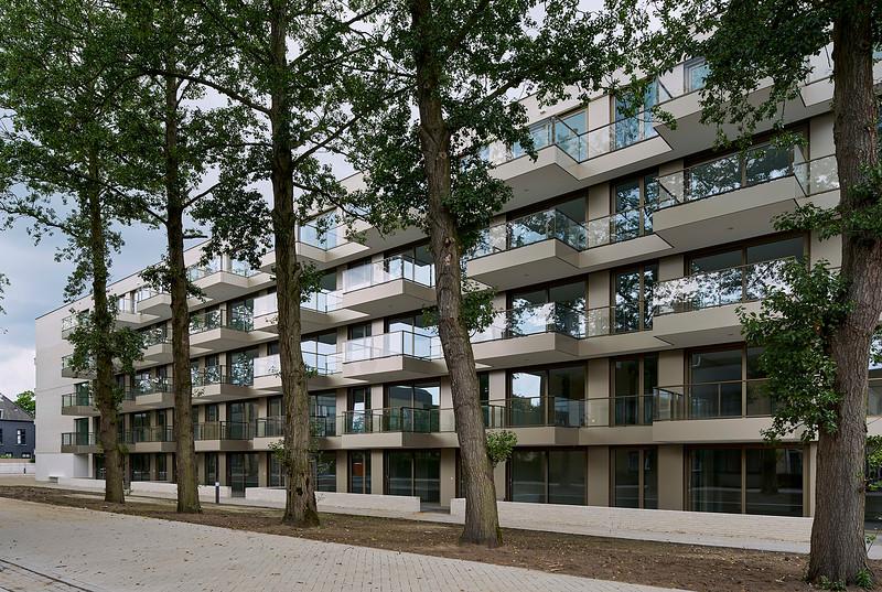Havermans Hielkema architecten.<br /> Woongebouw Breda. Liesboslaan.