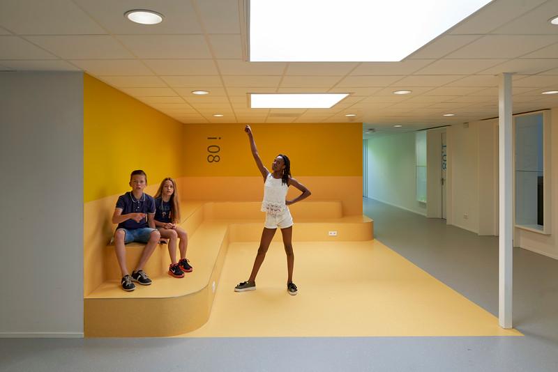 Nuenens College. RoosRos architecten.