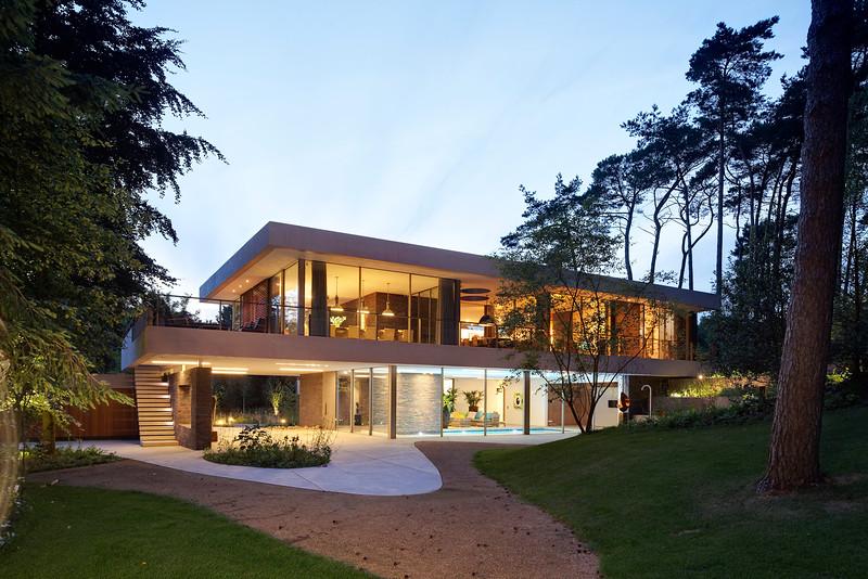 Hilberink Bosch architecten. Villa Bosch en Duin.