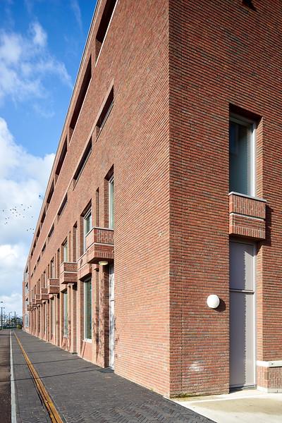 Woningbouw Spoorzone Breda. DAT architecten Tilburg. Theo van Esch