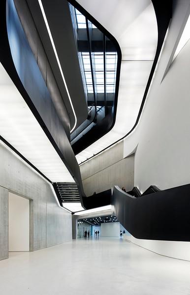 Rome. Italy. Maxxi museum. Architect: Zaha Hadid.