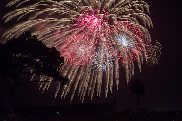 St. Augustine fireworks