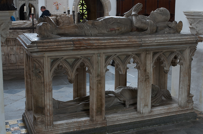 Tomb in the Fitzalan Chapel