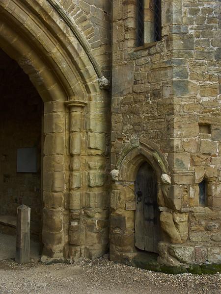 Gatehouse door