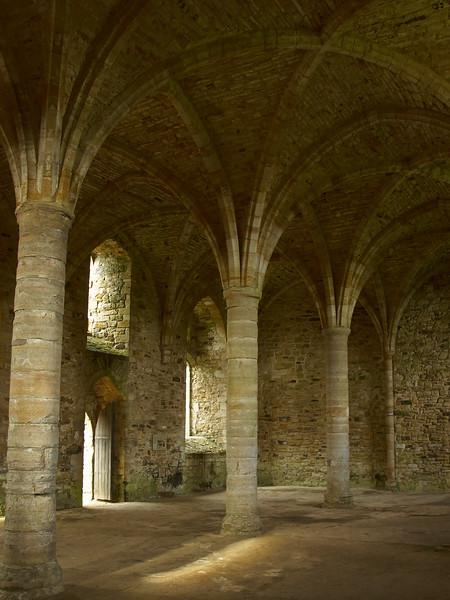 Battle Abbey Interior View