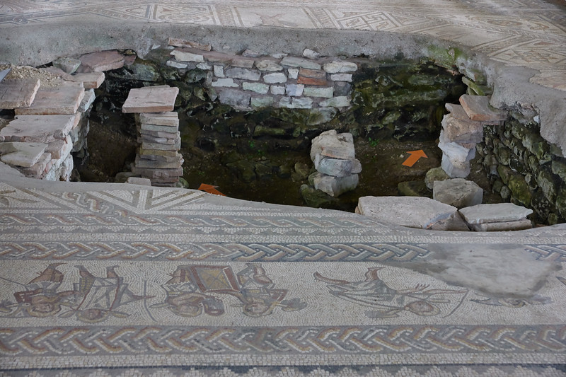 Hypocaust Bignor Roman Villa