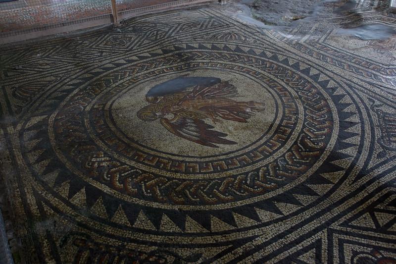 Mosaics Bignor Roman Villa