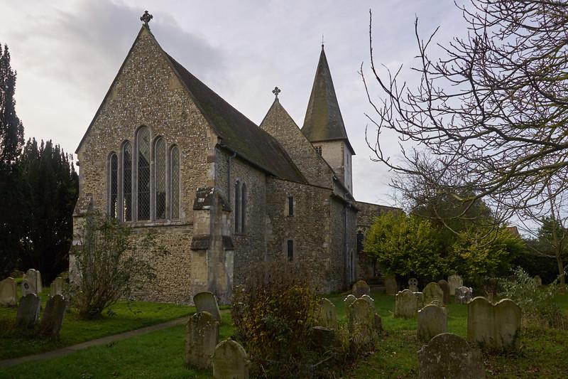 Holy Trinity, Graveyard