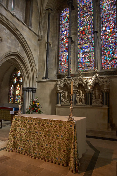 Alter of Priory Church of St Mary and St Blaise