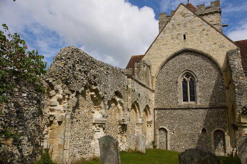 Ruins of old parish church
