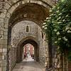 Through the  Castle Gateway