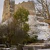 Lewes Castle, Winter