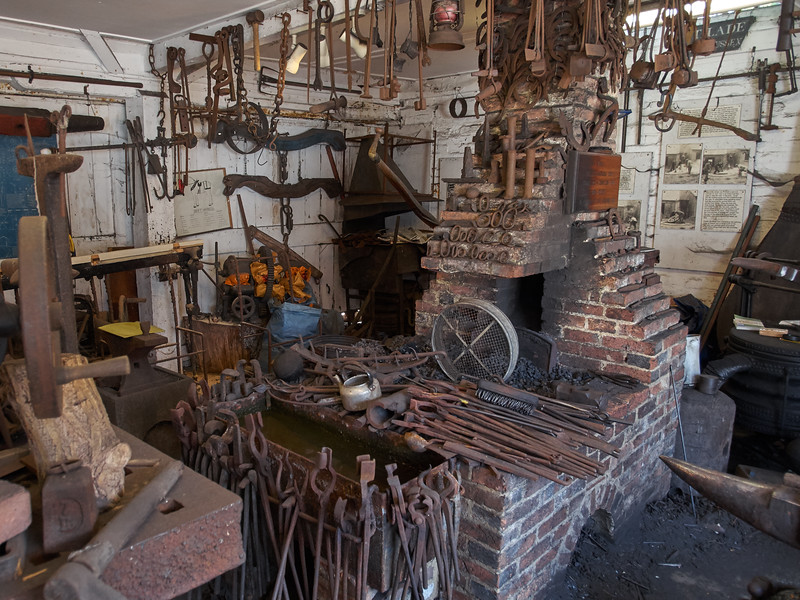 Forge at the Smithy