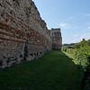 Pevensey Castle, Roman Wall