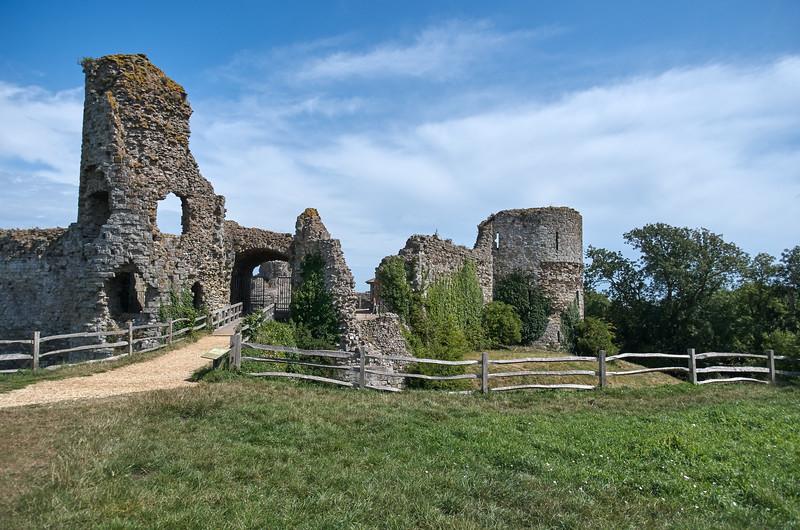 Norman Gate of Pevensey Castle