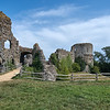 Norman Gate of Pevensey Castle