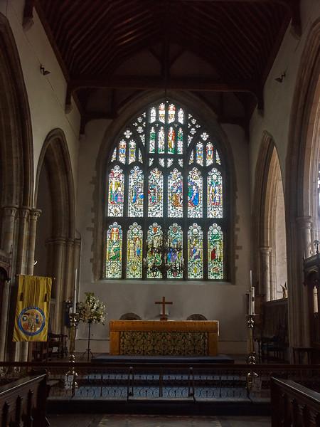 Alter at St Marys Church