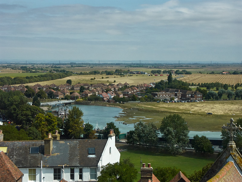 View from St Marys Church Tower