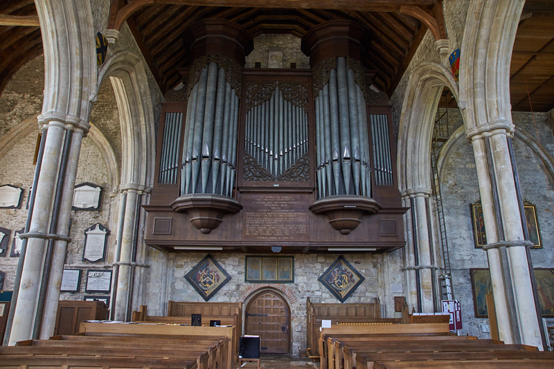 Organ at St Thomas Church