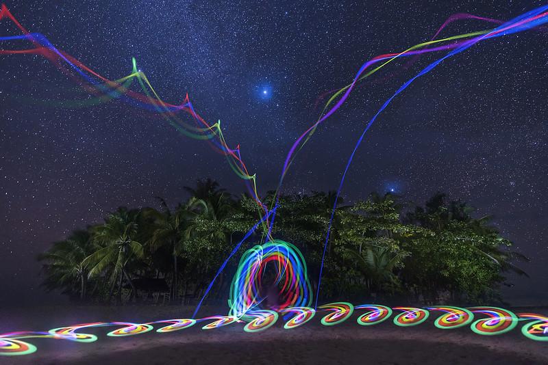 Guyam Light Painting