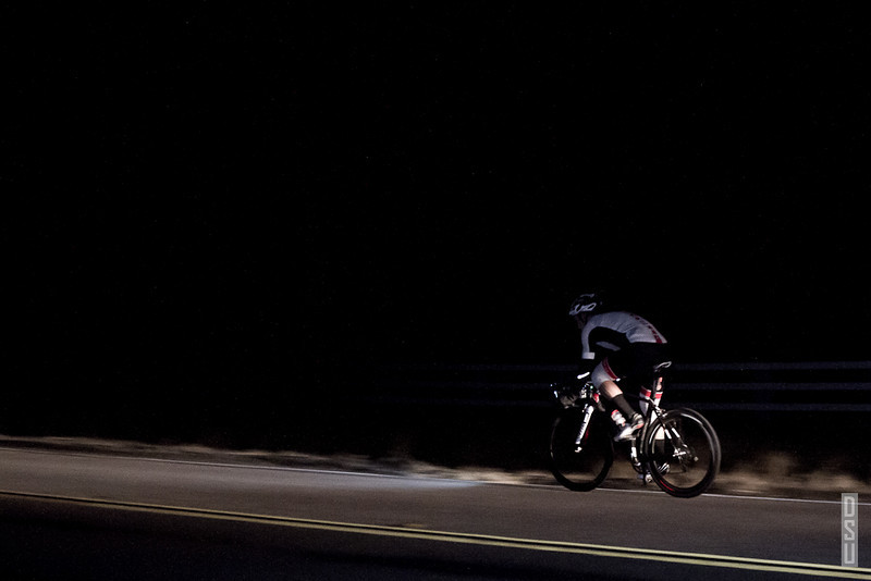 Adam continues his fast pace as he rides east towards Mt Palomar.