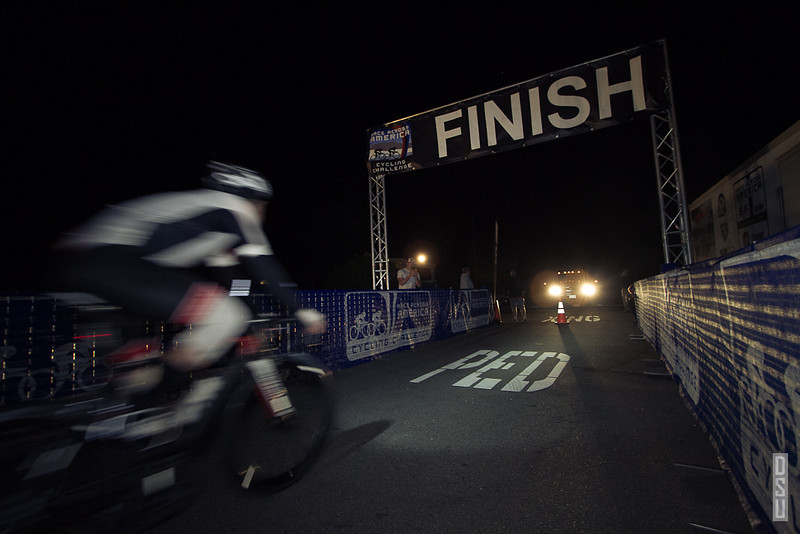 Sunday, 4:19AM. Adam crosses the finish line, setting a new solo course record in just under 23 hours and 20 minutes.