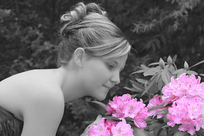 Katelyn Flower BW