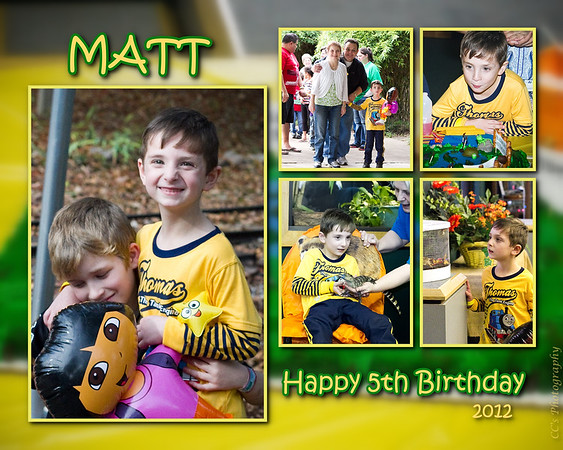 Matthew H. Birthday 2012