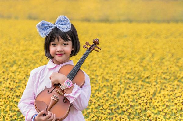 asian cute little girl