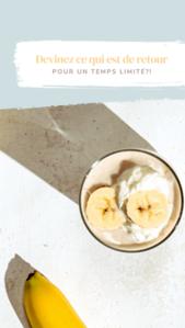 FRENCH Banana Cream