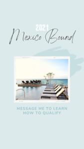 Mexico Trip Winners
