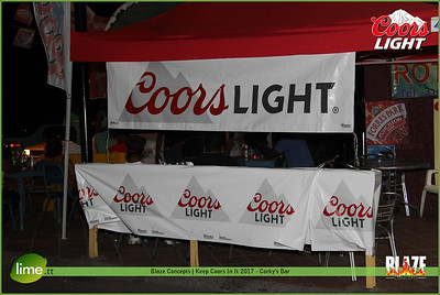 Blaze Concepts | Keep Coors In It 2017 - Corky's Bar