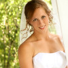 Bridal ,hand on porch rail