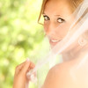 Bride Behind the veil, left shoulder