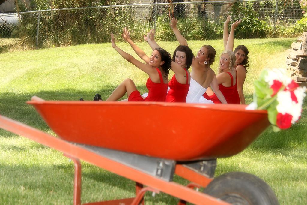 Fittin in the wheelborrow